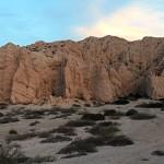 Panorama Quebrada de las Flechas Sunset