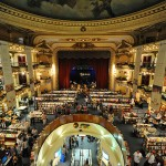 Ateneo Bookstore in an old theatre in Buenos Aires