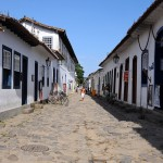 Historic town centre in Paraty
