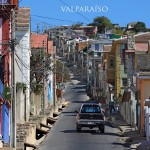 In the streets of Valparaíso