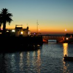 Sunset in Colonia del Sacramento
