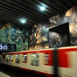 Metro in Santiago de Chile