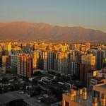 Santiago del Chile by night