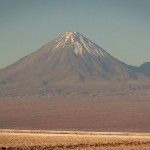 Vulcan Licancabur, northern Chile