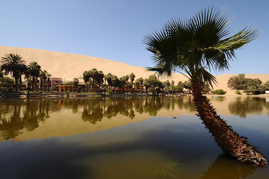 Desert near Ica, Peru