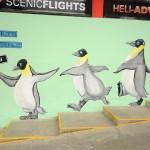 Penguins everywhere