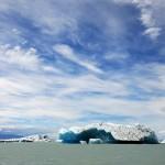 Piece of Viedma glacier