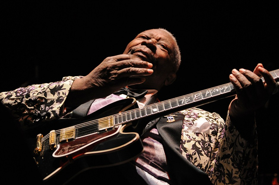 B.B. King live in Hamburg